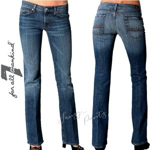 7FAM jeans Bootcut mid-rise 25 x 32